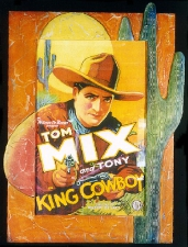 Tom Mix Framed Poster