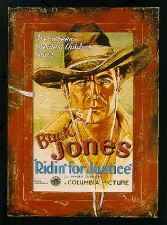 Buck Jones Framed Poster