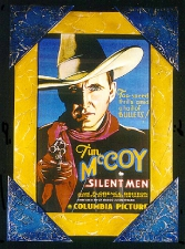 Tim McCoy Framed Poster