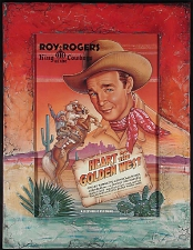 Roy Rogers Heart of the Golden West Framed Poster